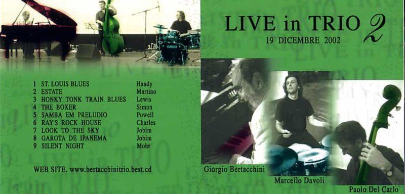 live in trio 2 album cover