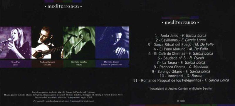 Mediterranea Album Cover (2007)